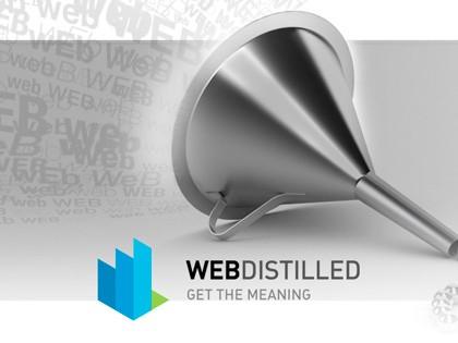 Un motore semantico per distillati di WEB.